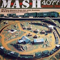 Bachmann M*A*S*H 4077th Train Set