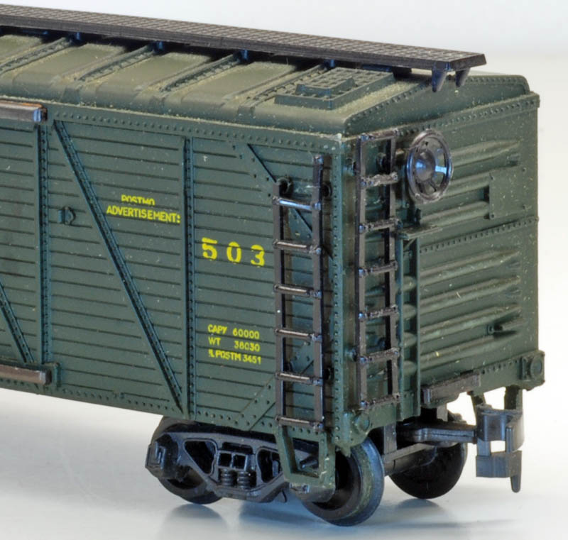 AHM 40-foot Wood-Sheathed Boxcar