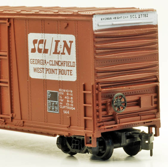 AHM 41-foot High-Cube Boxcar