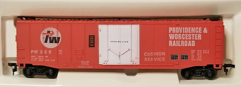 AHM 50-foot Boxcar Updated