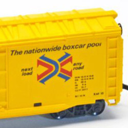 AHM 50-foot Double-Plug Door Boxcar
