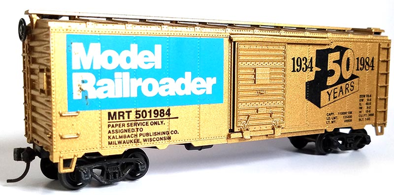 Model Railroader 50th Anniversary