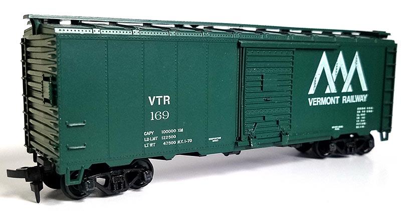 Athearn 40' Boxcar VTR