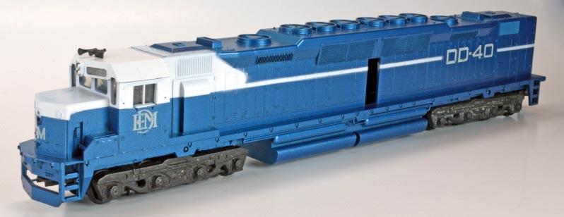 Athearn EMD DD40 - HO-Scale Trains Resource