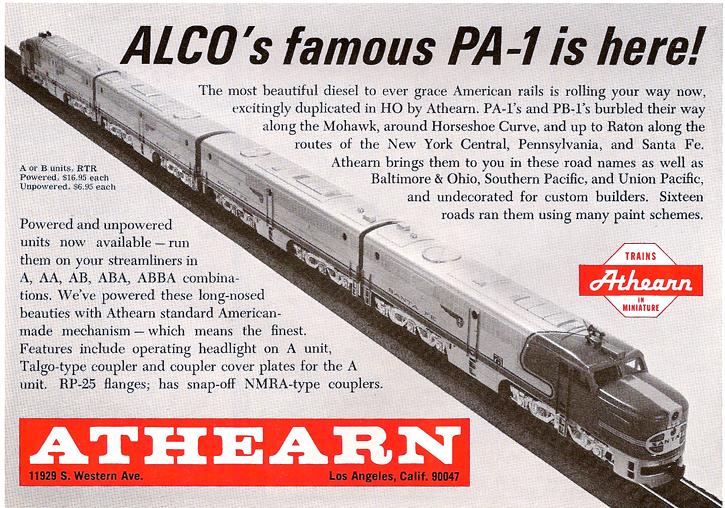 Athearn Alco PA