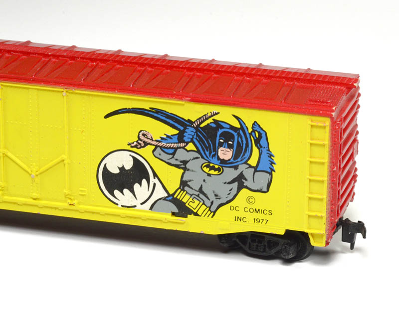 TYCO Super Hero Boxcars