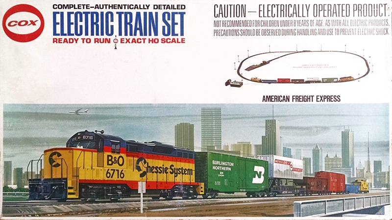 Cox Trains Ho Scale Trains Resource