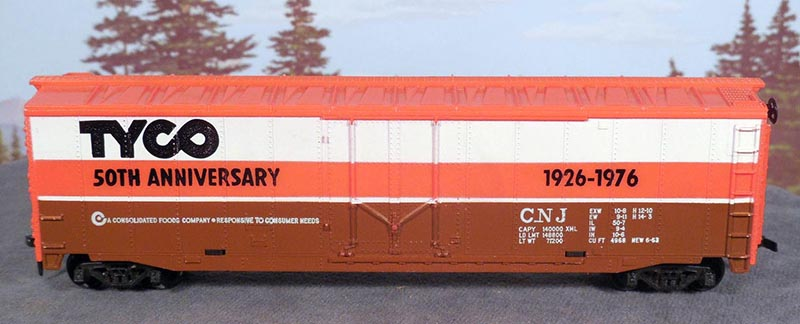 TYCO 50th Anniversary Boxcar