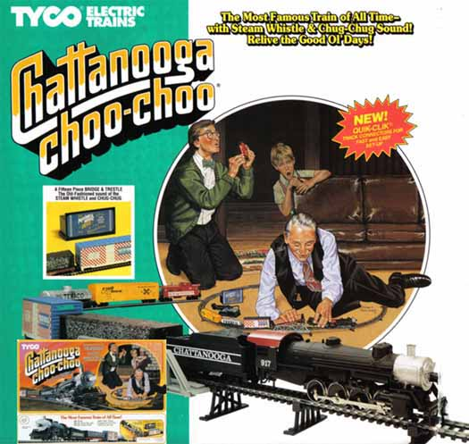 TYCO Chattanooga Choo-Choo Train Set