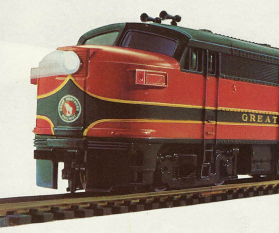The Great Northern from Lionel-HO - HO-Scale Trains Resource