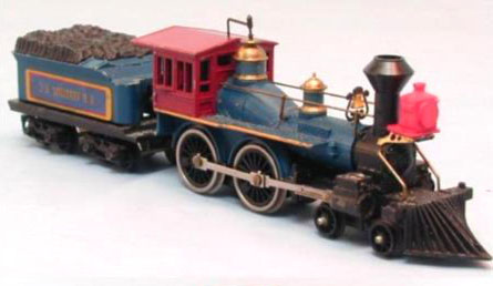 TYCO Blue and Gray Centennial Train Sets