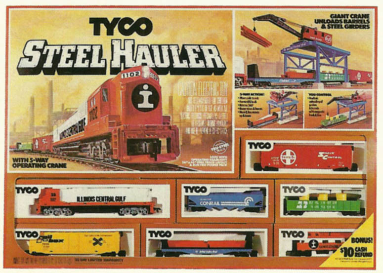 Tyco Steel Hauler Train Set Ho Scale Trains Resource