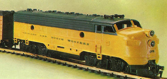 Diesel Freight Set from Life-Like