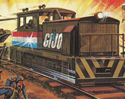 TYCO's G.I. Joe train set
