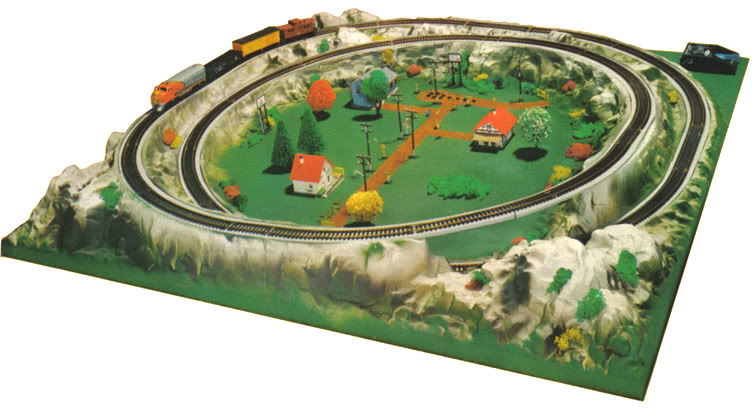 Life like ho scale trains resource for Model chicken set