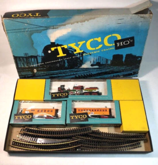 Tyco Brown Box: TYCO's The General Train Set