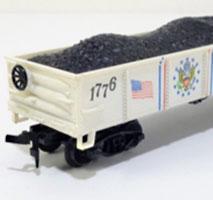Life-Like Bicentennial Freight Cars