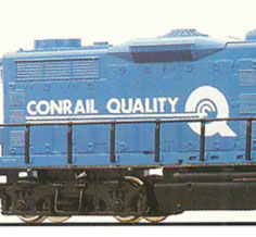 "Mantua's Conrail ""Quality"" Blue Ribbon"