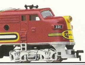"Mantua's Santa Fe ""War Bonnet"" Express"