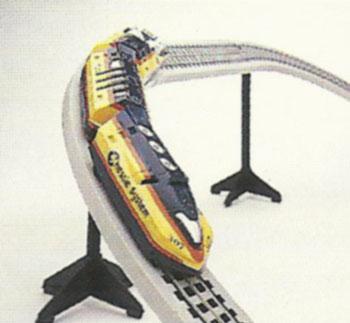 TYCO's Chessie System Turbo Train set