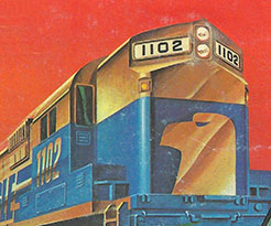 TYCO's Golden Eagle train set