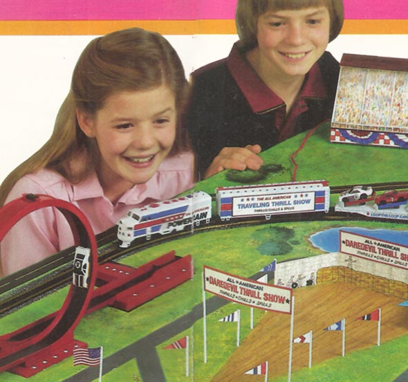 Bachmann's All-American Traveling Daredevil Thrill Show (1985-1986)