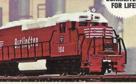 Bachmann's Twin EMD GP40 Diesel and Six Cars (1971-1975)