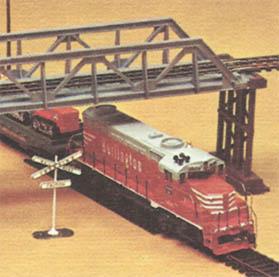 TYCO's Burlington Super Over & Under train set 1971-1972